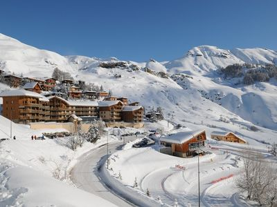 Photo for Two-room residence ROND POINT DES PISTES 1 - resort center and ski in Orcières ...