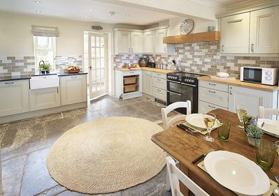 Newly fitted in 2014 open plan kitchen dining room