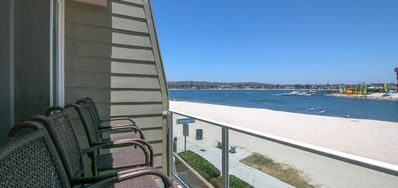 Photo for Relax waterfront at this two bedroom condo.
