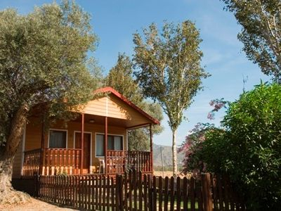 Photo for Cabin or bungalow Cabañas del Camping Orgiva for 4 people