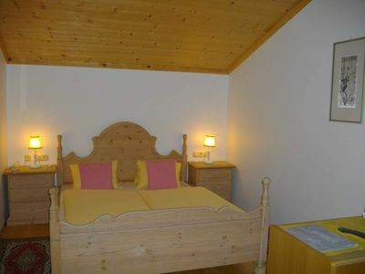 Photo for Double room with shower, WC (4) - Chesa Montana