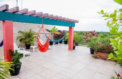 Photo for Amazing 1,400 sq.ft 2 Level Penthouse w- Private Roofdeck 3 Blocks to Beach!