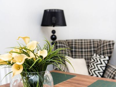 Photo for Bright and romantic apartment in historical part of the Old Town