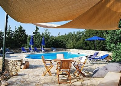 Photo for Villa In Xirosterni With Private Pool And Both Sea And Mountain Views