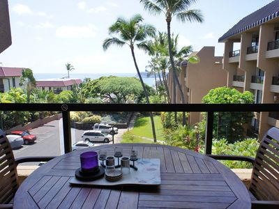 Photo for Walk to Kona Town | Ocean View | Designer Decor | Starts at $109/Night