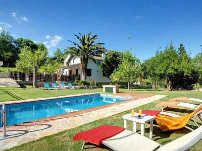Photo for 3 bedroom Villa, sleeps 8 in Grazalema with Pool, Air Con and WiFi