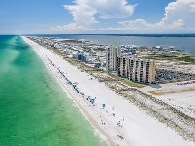 Photo for Sand Dollar Legacy-  Beautiful  view of emerald water and crystal sand