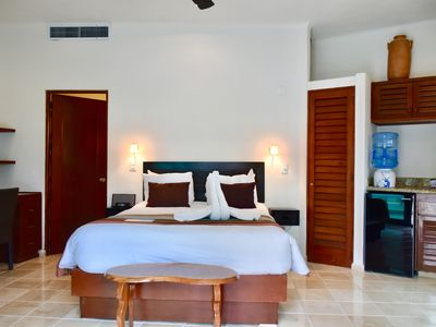 Photo for Amazing suite, ocean front in the heart of Playa del Carmen.