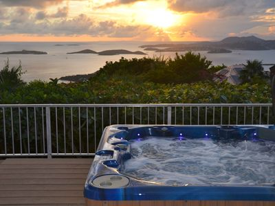Photo for Plumeria: Panoramic Ocean & Sunset Views, Heated Pool, Spa, & Privacy