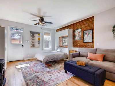 Photo for NEWLY Remodeled Carriage House Studio- West Highlands- ALL 5 STARS- Walkable!