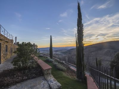 Photo for Sweet Tuscan Style House With Pool, Panoramic Patio, Away From All, Close Town
