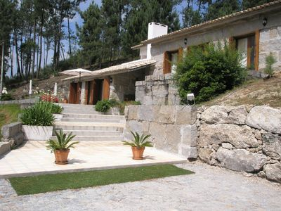 Photo for Villa w / private pool (with 23700 m2 of green areas) at 40Km from PORTO