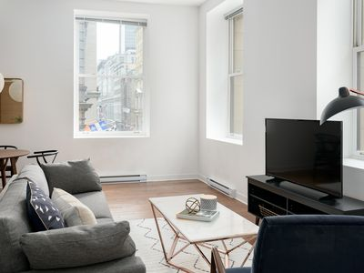 Photo for Modern 1BR in Old Montreal by Sonder