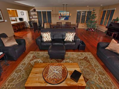 Photo for Luxury Family Friendly Home - Hot Tub, Game Room & walk to Beach