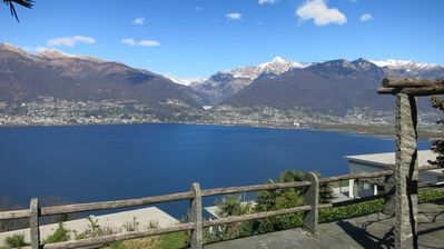 Photo for Rustico with plenty of space and fantastic view of Lake Maggiore