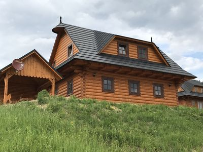 Photo for Exclusive chalet in the beautiful Mala Fatra, Orava region, Zazriva for rent
