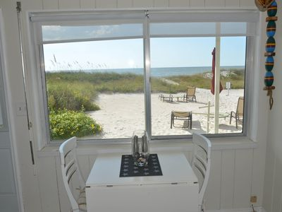 Photo for NEW LISTING! Waterfront condo w/free WiFi & full kitchen - walk to beach