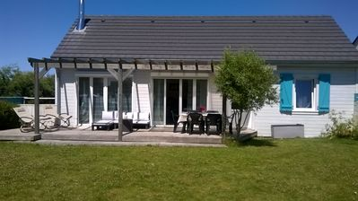 Photo for Modern seaside house 300 m from the beach and golf