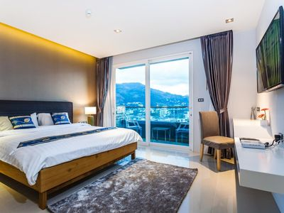 Photo for ET503 - Seaview studio in Patong with kitchen, washer, gym and pool
