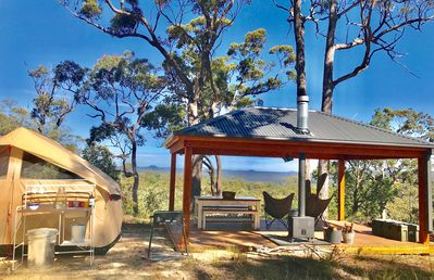 Photo for Glamp Wombat Ridge's Bush Pavilion