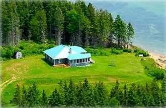 3BR Accommodation (New Private Shore-Front Home) on Pictou Island
