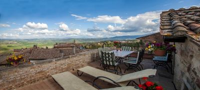 Photo for Unique Views From Inside The Town Of Montalcino