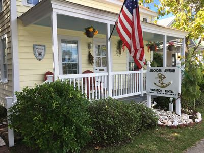 Photo for Anchors Aweigh Cottage In Historic Seaside Beaufort, NC
