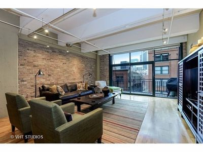 Photo for Furnished Large Upscale Open Loft w Exposed Brick & Balcony