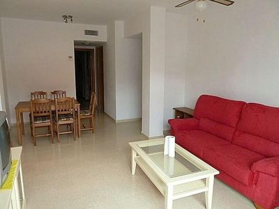 Photo for Garrucha 1 apartment in Almeria with integrated air conditioning, private parking, balcony & lift.