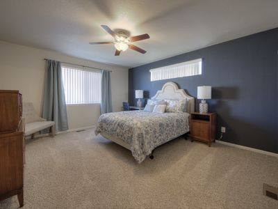 Photo for Quiet home with a view and AC!!