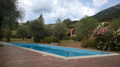 Photo for RELAXING APARTMENT WITH POOL IN THE LOVELY BORDERING GOLF COURSE