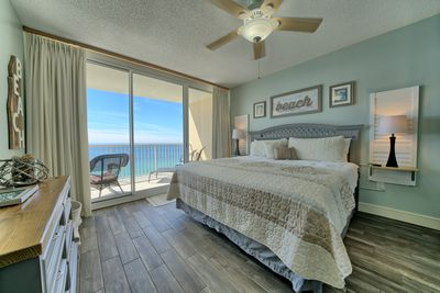 Master suite with beautiful gulf view