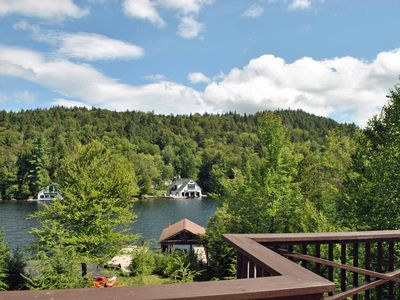 Photo for Waterfront Property on Lake Placid, Available all four seasons