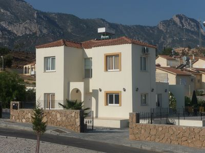 Photo for Luxury villa with fantastic sea and mountain views. Large private pool and WIFI