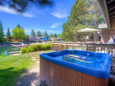 Photo for Tahoe Keys Home, Boat Dock, BBQ, Hot Tub, Fireplace, Views, Deck (TKH0886)