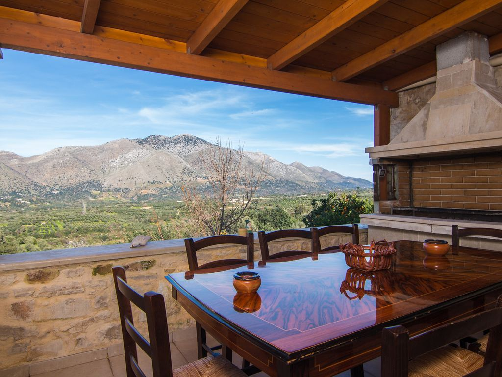 Cottage house with amazing mountain view in a quiet small - House with a view ...