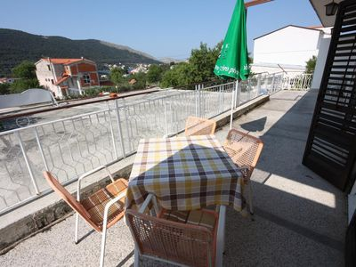 Photo for Two bedroom apartment with terrace and sea view Grebaštica, Šibenik (A-6103-b)