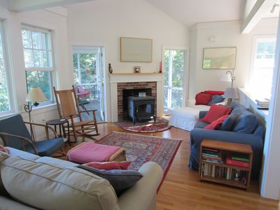 Photo for Cape Cod Architectural Gem with great water view and peaceful setting