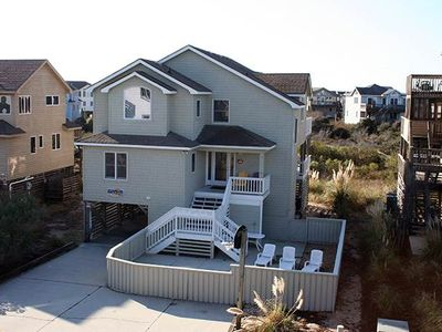 Photo for #CP3: OCEANSIDE Home in Corolla w/PRVTPool & HotTub, DogFriendly