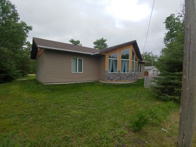 Photo for New 3-bedroom home just a few steps from Lake Winnipeg
