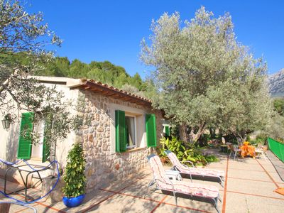Photo for Private and peaceful cottage overlooking the mountains in Soller