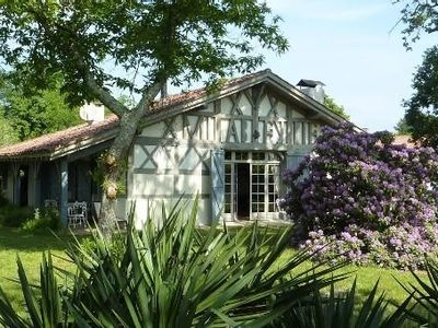Photo for Superb Sheepfold Landes with heated pool!
