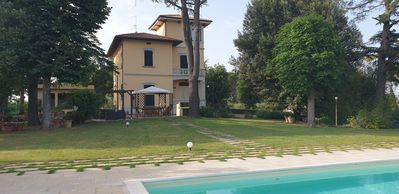 Photo for Art Nouveau villa near the most beautiful art cities of Tuscany