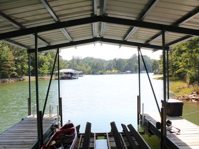 Photo for Family getaway on lake near Clemson campus.