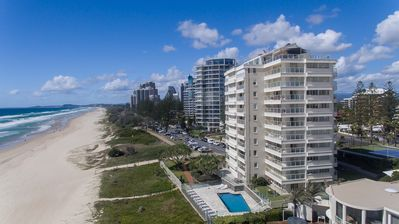 Photo for 2 Bed unit Broadbeach / Surfers ON THE BEACH for 6 weeks!