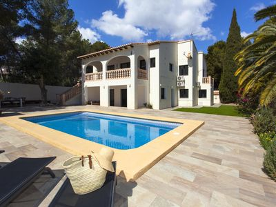 Photo for MOMENTS - Charming holiday villa 750 m away from Les Platgetes, in Moraira