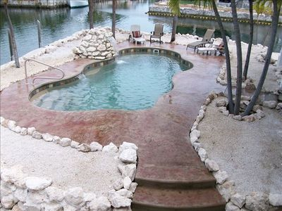 Palm Breezes House new swimming pool