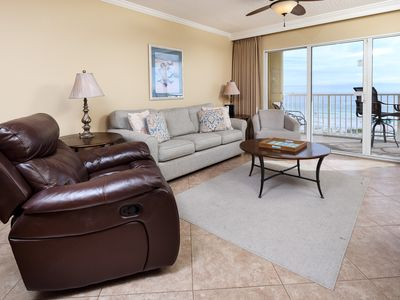 Photo for Gulf Dunes 302: Relaxing beach getaway, WIFI,pool,tennis,BBQ,FREE BCH SV