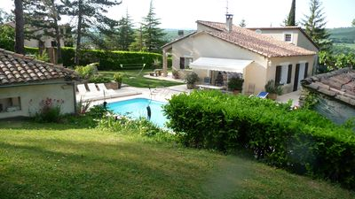 Photo for CERESTE IN THE HEART OF LUBERON VILLA 200 M2; TERRACE GARDEN 4000M2