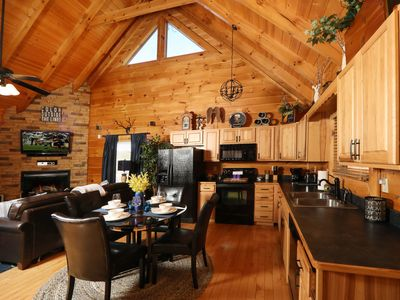 Photo for Forever Young a 1 bedroom cabin in Bear Creek Crossing Resort